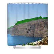 Los Gigantes Tenerife Spain Shower Curtain