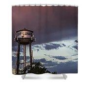 Los Lunas Water Tower Shower Curtain