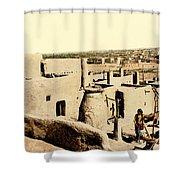 Los Pueblos De Taos Shower Curtain