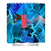 Lose Myself Shower Curtain