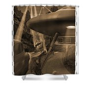 Lost Film 35 Mm Shower Curtain by Mike McGlothlen