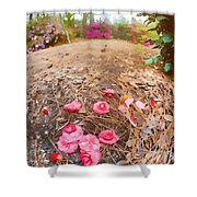 Lost Flowers Shower Curtain
