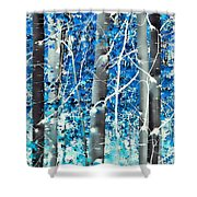Lost In A Dream Shower Curtain by Don Schwartz