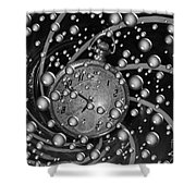 Lost In A Space And Time Shower Curtain