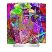 Lost In Abstract Space 20130611 Long Version Shower Curtain