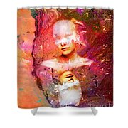 Lost In Art Shower Curtain