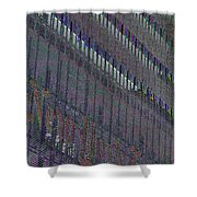 Lost In Color  Shower Curtain