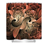 Lost In Dreams Abstract Shower Curtain