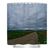 Lost In France Shower Curtain