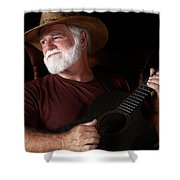 Lost In Song Shower Curtain