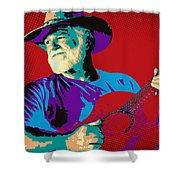 Jack Pop Art Shower Curtain