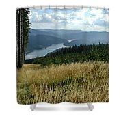 Lost In The Beauty Of Pure Michigan  Shower Curtain
