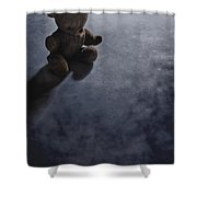 Lost In The Darkness Shower Curtain