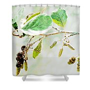 Lost In The Light Shower Curtain