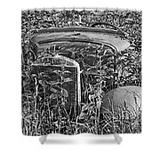 Lost In The Weeds Shower Curtain