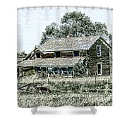 Lost In Wyoming Shower Curtain
