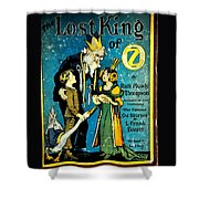 Lost King Of Oz Shower Curtain