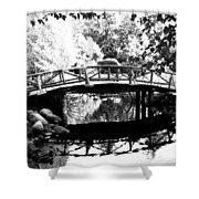 Lost Lagoon Bridge  Shower Curtain