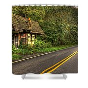 Lost Opportunity Great Smokey Mountains Shower Curtain