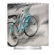 Lost Picnic Basket  Shower Curtain