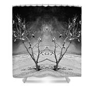 Lost Soles Shower Curtain