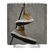 Lost Teens Shower Curtain