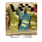 Lotions And Potions Shower Curtain