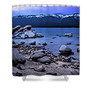 Lots Of Rocks Shower Curtain