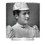 Lottie Dod (1871-1960) Shower Curtain