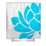 Lotus Blossom Shower Curtain