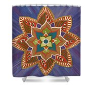 Lotus Flower 2 Shower Curtain