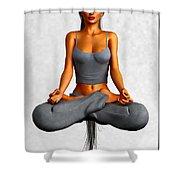Lotus... Shower Curtain