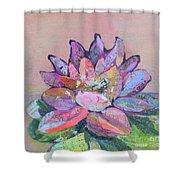 Lotus V Shower Curtain