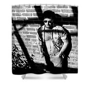 Lou 1980 Shower Curtain