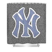 Lou Gehrig Speech Mosaic Shower Curtain