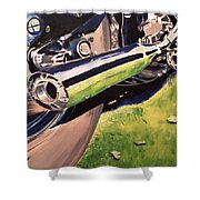 Loud Ride Shower Curtain