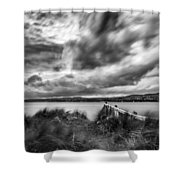 Lough Foyle View Shower Curtain