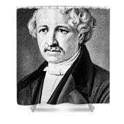 Louis Daguerre (1789-1751) Shower Curtain