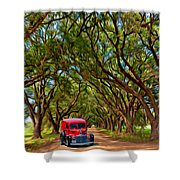 Louisiana Dream Drive  Shower Curtain