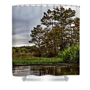 Louisiana Landscape Shower Curtain