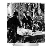 Louisiana Purchase, 1803 Shower Curtain