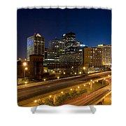 Louisville, Kentucky Shower Curtain