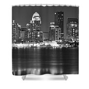 Louisville Kentucky Shower Curtain
