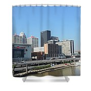 Louisville Skyline  Shower Curtain
