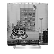 Louisville Slugger Field Shower Curtain