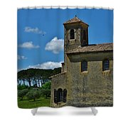Lourmarin Castle Shower Curtain