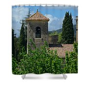 Lourmarin Castle In Provence Shower Curtain