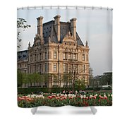 Louvre Museum Shower Curtain