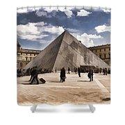 Louvre Museum - Paris Shower Curtain