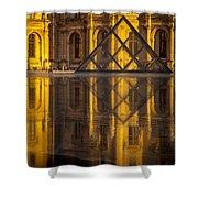 Louvre Sunset Shower Curtain